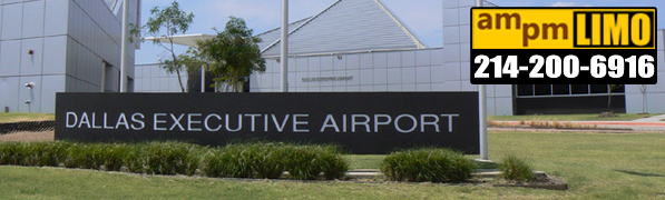 Dallas to Dallas Executive Airport Limo Service